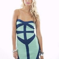 Playing With Arrows Dress | Bandage Dresses | MessesOfDresses.com