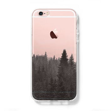Forest Fog iPhone 6s Clear Case iPhone 6 plus Cover iPhone 5S 5 5C Hard  Transparent 349a8d614776
