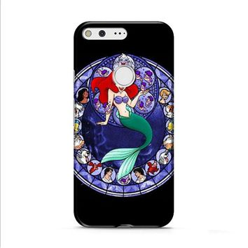 Ariel the Little Mermaid Stained Glass Google Pixel XL 2 Case
