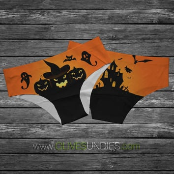 "Halloween ""This is SpooksVille"" Panties"