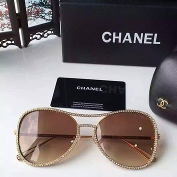 Chanel Designer Womens Sunglasses Polarized Sunglasses - Beauty Ticks