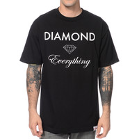 Diamond Supply Diamond Everything Black Tee Shirt at Zumiez : PDP