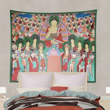 Chilseong Tapestry - Seven Stars - Buddha - (Printed)