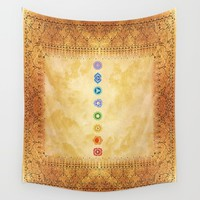 Chakras Kali | Beyond the time  Wall Tapestry by Azima