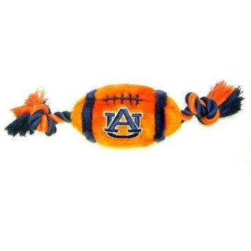 CREYONI Auburn Tigers Plush Football Dog Toy