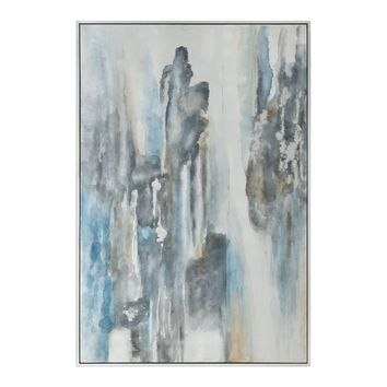 Celebrate Hand Painted on Canvas Abstract Artwork by Uttermost
