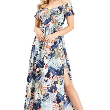 Bird of Paradise Maxi Dress
