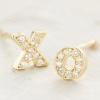 XO Posts by Anthropologie in Gold Size: One Size Earrings