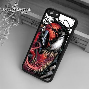 maifengge Deadpool Venom Marvel Amazing Case For iPhone 6 6S 7 8 Plus X 5 5S SE Case cover for Samsung S5 S6 S7 edge S8 Plus