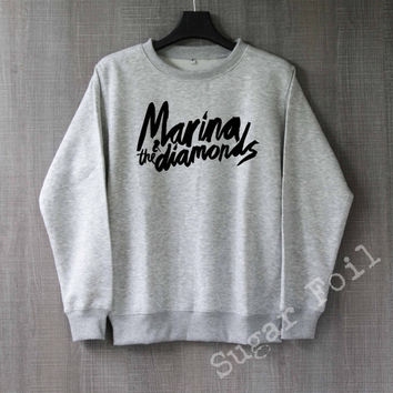Marina and The Diamonds Sweatshirt Hoodie Sweater Unisex - Size S M L XL