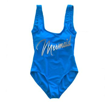 Mermaid One Piece Swimsuit