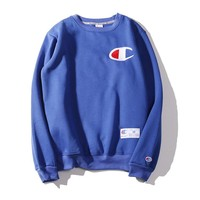 Best Deal Online Champion Fashion Long Sleeve T Shirt Blue