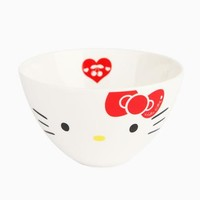 Hello Kitty Rice Bowl: Red Bow