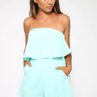 Love Yourself Playsuit - Mint