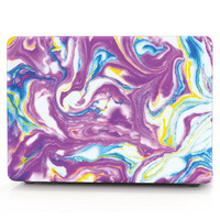 Mix Color Marble Texture Laptop Body Shell Protective Hard Case For MacBook Air 11 13 A1369/Pro 13 15 A1286/ Pro Retina 12 13 15
