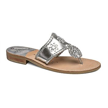 Enchanted Navajo Sandal in Silver by Jack Rogers - FINAL SALE