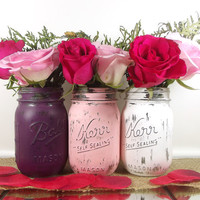Bridal Shower Decor // Rustic Wedding Decor Mason Jars // Bridal Shower Centerpiece // Wedding Decoration Ideas // Wedding Decor