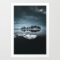 Only pieces left Art Print by happymelvin