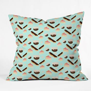 Laura Redburn Sweet Things Throw Pillow