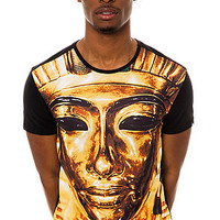 Two Angle Tee Pharaon in Black