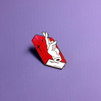 Broken Oath Enamel Pin