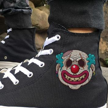 Wen Designer Hi Top Clown Sneakers