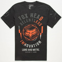 Fox Eod Mens T-Shirt Black  In Sizes