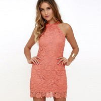 Sexy Sleeveless Lace Dress