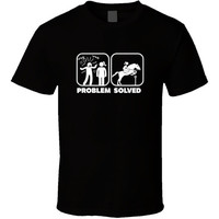 Problem Solved Horse Riding - Horse T-shirt