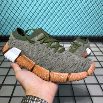 AUGUAU A047 Adidas Superstar II 2018 Summer Low Breathable Knit Running Shoes Green Maroon