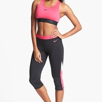 Nike 'Pro Hypercool Flash' Bra & Capri Leggings | Nordstrom