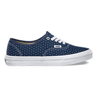 Vans Authentic Slim(Micro Hearts)Dress Blue/Wht