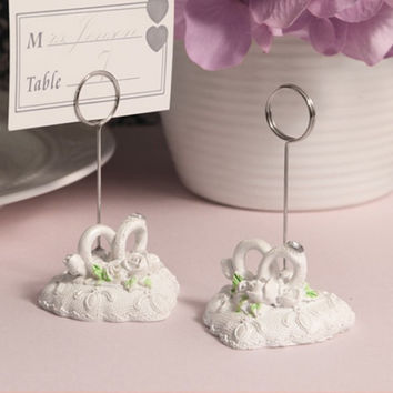Heartfelt Vows Picture or Place Card Holder Wedding Favor
