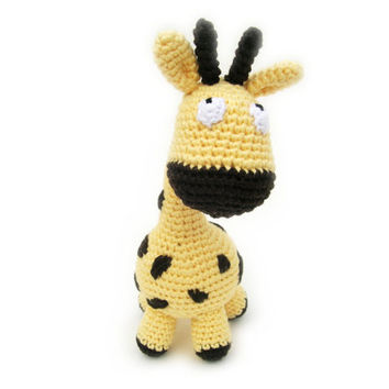 Amigurumi cute giraffe, miniature crochet giraffe, plushi giraffe, giraffe toy, stuffed animal, tiny giraffe doll, crochet doll