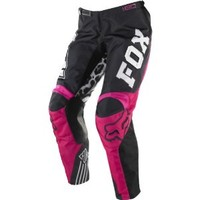 Fox Racing 180 Youth Girls Off-Road/Dirt Bike Motorcycle Pants - Black/Pink / Size 28