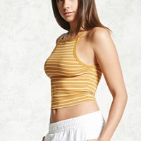 Stripe Cropped Cami