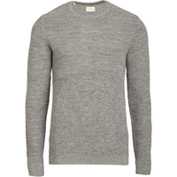 Pull New Vince gris SELECTED | Citadium