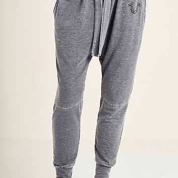 RELAXED CRYSTAL HORSESHOE WOMENS SWEATPANT