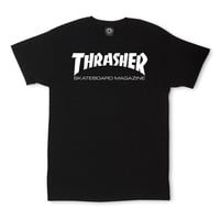 Thrasher Skateboard Magazine Black T-Shirt