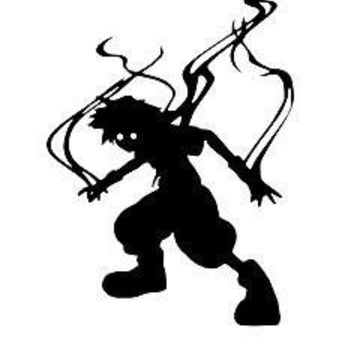 Kingdom Hearts Anti Form Sora 6  Vinyl Car/Laptop/Window/Wall Decal