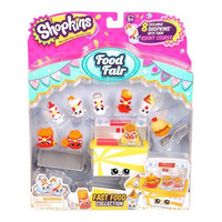 Fast Food Collection Shopkins Food Fair 8-Pack