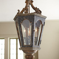 """French Lantern"" Pendant Light - Horchow"