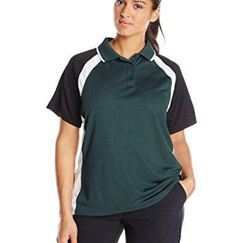 Charles River Apparel Womens Ares Button Polo Shirt