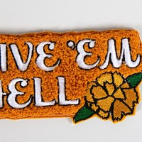 Rosehound Apparel Give 'Em Hell Chenille Patch