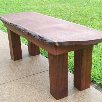 SaWMiLL TABLE Bark ON Walnut Live Edge Lumber by MrsRekamepip