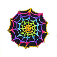 Trippy Spider Web Patch