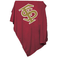 Florida State Seminoles NCAA Sweatshirt Blanket Throw