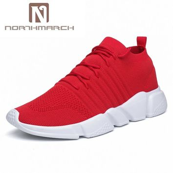 Stylish Mid-Ankle Breathable Tennis Shoes