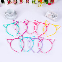 cat ears head bands for kids fashion Women Girls Hairband Sexy Self  Headband Photo Prop Cloth Animal Hair Band Accessories