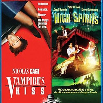 Nicolas Cage & Maria Conchita Alonso & Robert Bierman & Neil Jordan-Vampire's Kiss / High Spirits